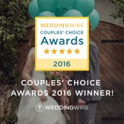 WeddingWire Couples' Choice Awards 2016 Winner!